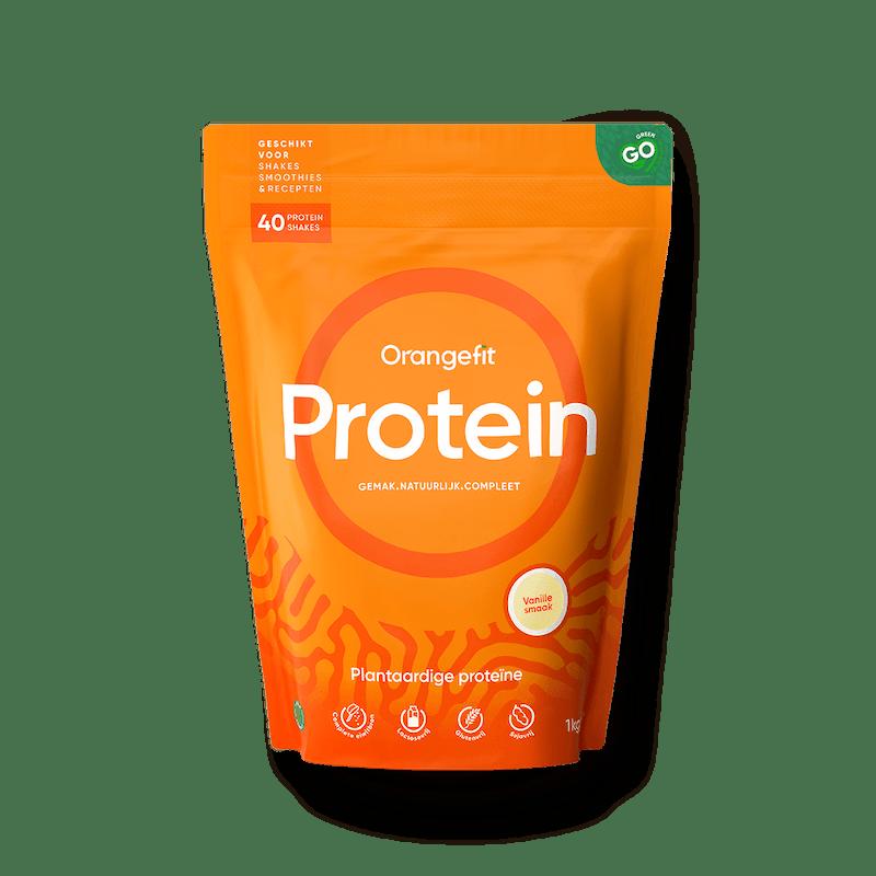 plantaardige eiwitshake, vegan protein