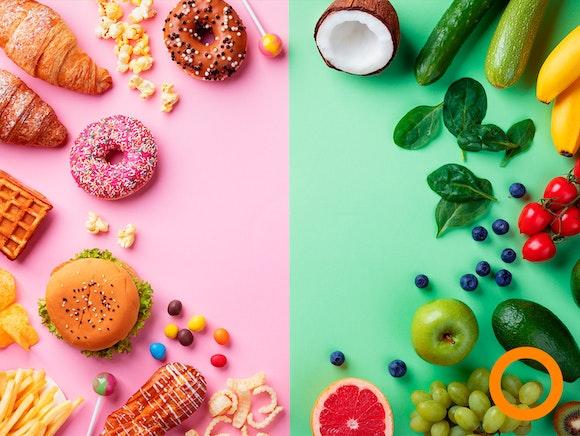 Minder trek in junkfood door vaker plantaardig te eten