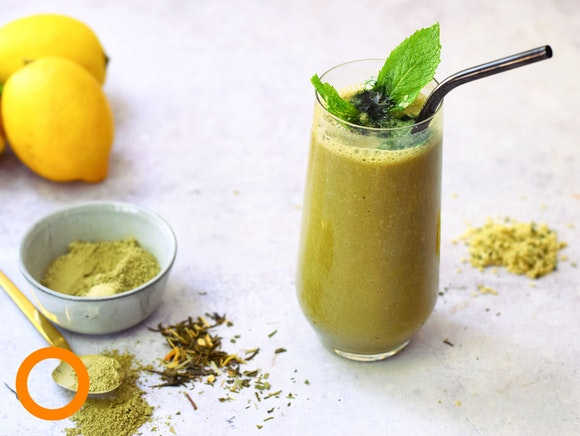 Collageen matcha smoothie