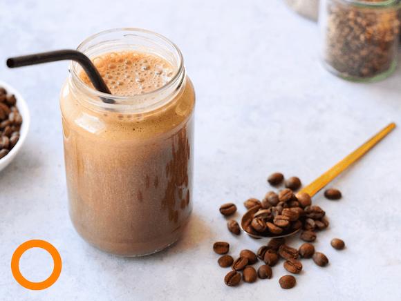 'Kickstart your morning' koffie smoothie