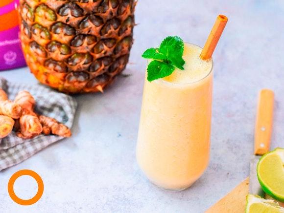 Zomerse ananas smoothie
